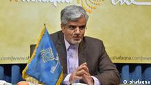 Der reformorientierter Abgeordneter des iranischen Parlaments Mahmoud Sadeghi.