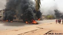 Guinea-Bissau Proteste gegen den Lehrerstreik in Bissau