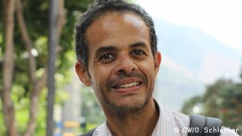 Venezuela Krise | VoxPop Passanten in Caracas | Jorge (DW/O. Schlenker)