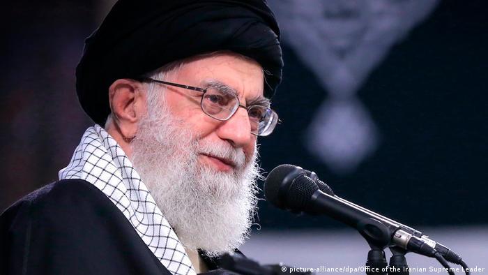 Ayatollah Ali Chamenei in Teheran