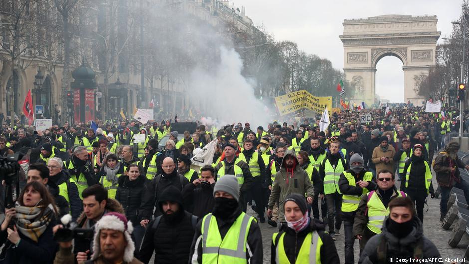 Frankreich Demonstration