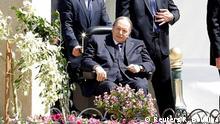***Archivbild*** FILE PHOTO: Algerian President Abdelaziz Bouteflika is seen in Algiers, Algeria April 9, 2018. REUTERS/Ramzi Boudina/File Photo