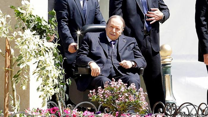 Bouteflika in a rare public appearance