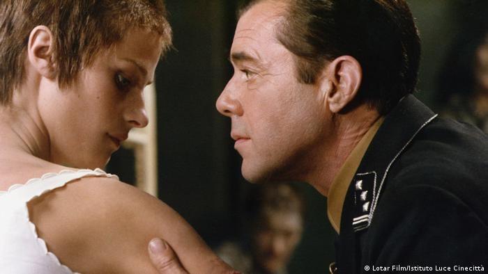 Charlotte Rampling and Dirk Bogarde in 'The Night Porter'(Lotar Film/Istituto Luce Cinecittà)