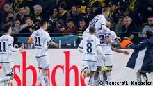 Fußball Bundesliga | 21. Spieltag | Borussia Dortmund - TSG Hoffenheim | Torjubel 3:3 (Reuters/L. Kuegeler)