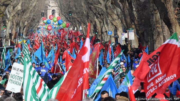 акція протесту в Римі