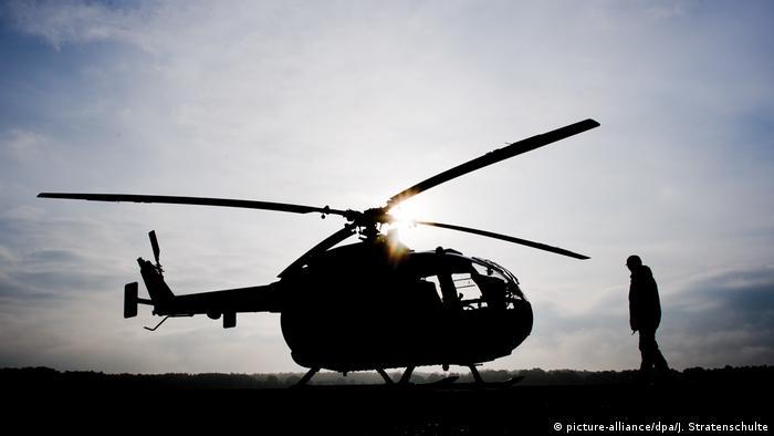 Bundeswehr helicopter