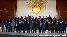 Äthiopien Addis Abeba Außenminister vor dem Treffen der Afrikanischen Union