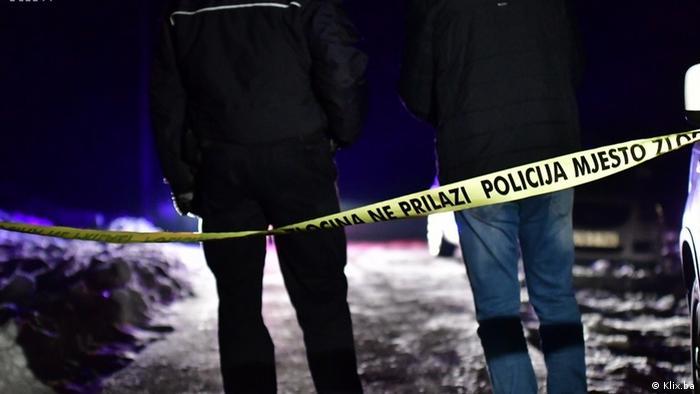Policija na mjestu ubojstva policajca