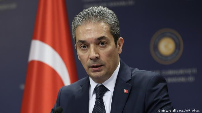 Türkei Sprecher des Außenministeriums Hami Aksoy