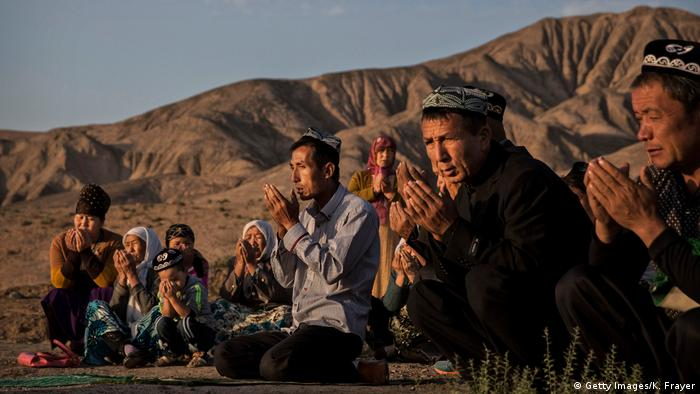 China Uiguren feiern muslimischen Feiertag Eid al-Adha (Getty Images/K. Frayer)