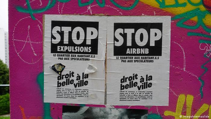 Frankeich | Protest gegen Airbnb