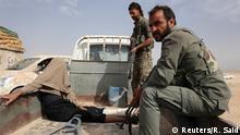 Syrien Kämpfe gegen den IS