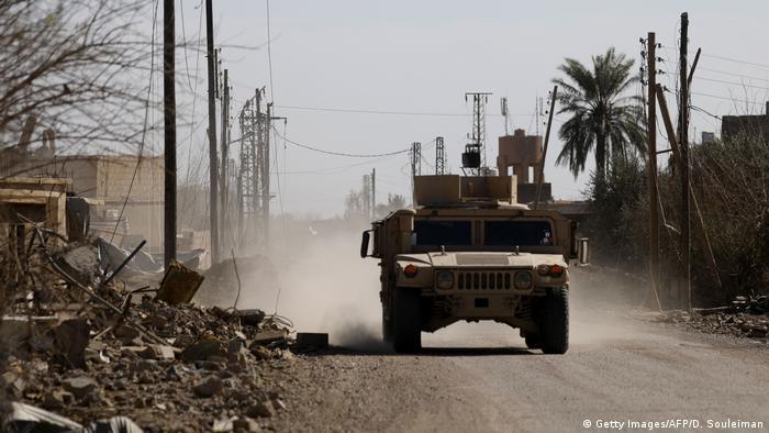 Syrien Kämpfe gegen den IS in Baghus