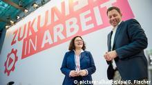 Deutschland   SPD-Klausurtagung Andrea Nahles und Lars Klingbeil