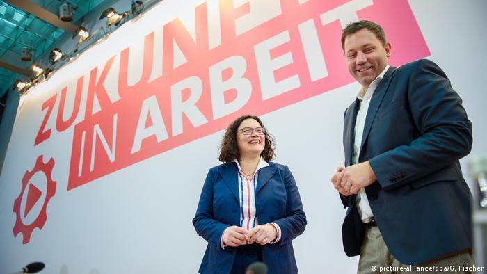Andrea Nahles i Lars Klingbeil