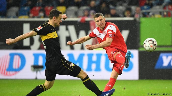 Fußball Bundesliga Fortuna Düsseldorf - VfB Stuttgart (Imago/J. Huebner)