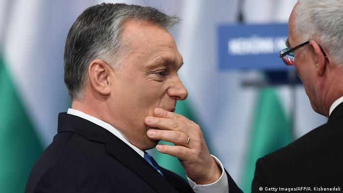 Ungarn Budapest Rede Premierminister Viktor Orban (Getty Images/AFP/A. Kisbenedek)