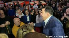 Belgien Michail Saakaschwili in Liege