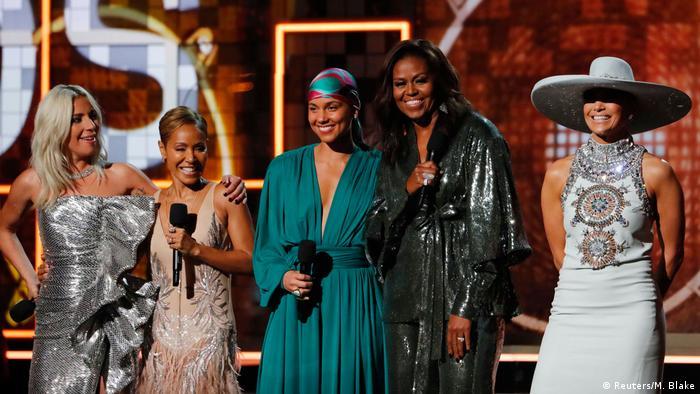 61. Grammy Awards | Michelle Obama u.A. (Reuters/M. Blake)