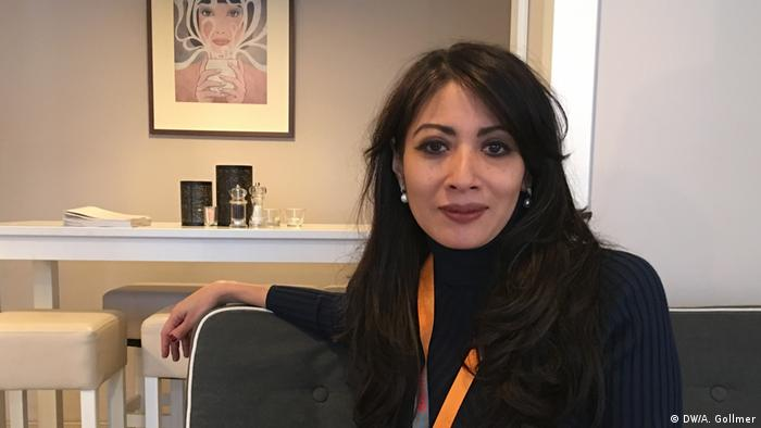 Berlinale 2019 Laksmi Pamuntjak (DW/A. Gollmer)