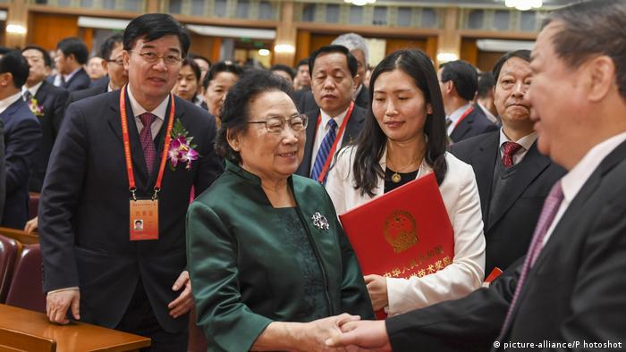 Tu Youyou (picture-alliance/P hotoshot)