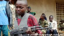 Kongo Kindersoldaten
