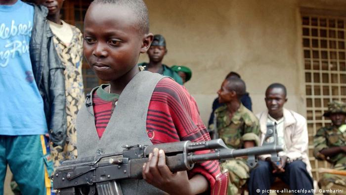 Kindersoldaten Heute