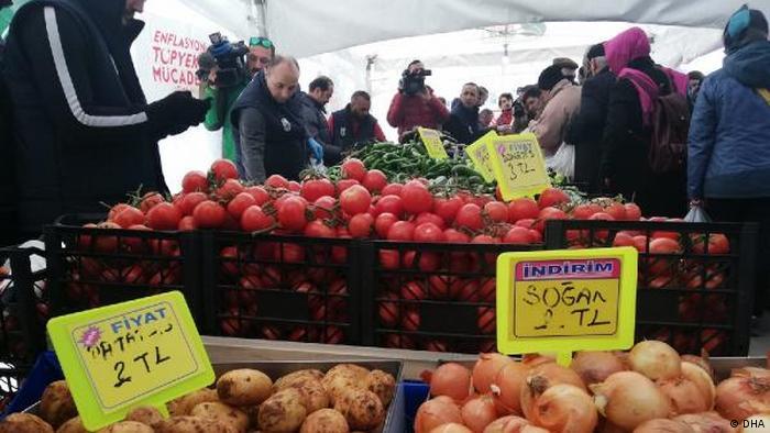 Türkei - Gemeinden verkaufen Essen zu günstigen Preisen (DHA)