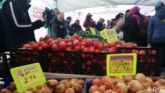 Λαϊκή αγορά στην Τουρκία
