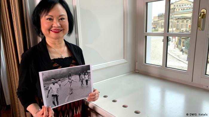 Kim Phuc - erhält den Dresden-Preis 2019 (DW/G. Ketels)