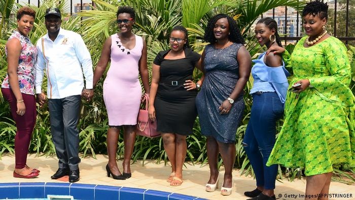 Uganda Miss Curvy Contest (Getty Images/AFP/STRINGER)