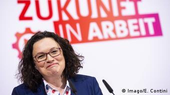 Berlin - Klausur der SPD-Bundestagsfraktion mit Andrea Nahles