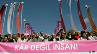 Demonstranten (Foto: AP)