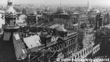 Deutschland Bombenangriff Dresden | Zerstörung Dresdens am 13./14. Februar 1945