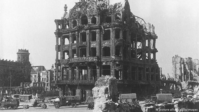 Символический снимок. Вот что осталось от Германии в 1945 году