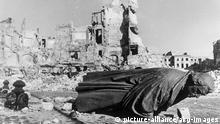 Deutschland Bombenangriff Dresden | Denkmal Luthers in Dresden