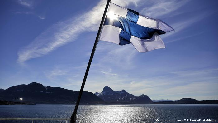 Finnland - Basic Income - Grundeinkommen Experiment (picture alliance/AP Photo/D. Goldman)