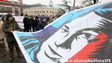 Ukraine Kiew Protest nach Mord an Kateryna Handsjuk