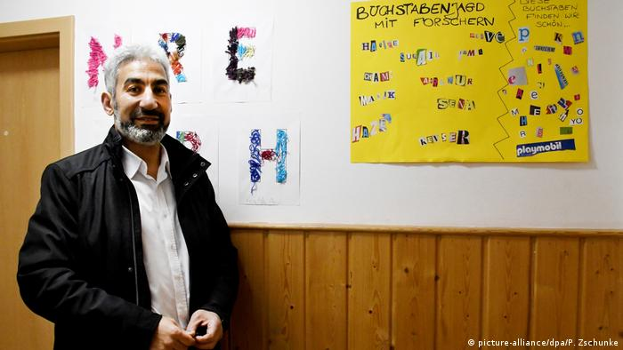 Deutschland - Muslimische Kita in Mainz - Vorsitzende des Mainzer Moscheevereins Arab Nil, Samy El Hagrasy
