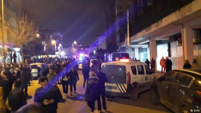 Türkei Absturz Militärhubschrauber in Istanbul
