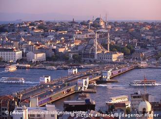 Stadtansicht von Istanbul (Foto: picture alliance/Bildagentur Huber)