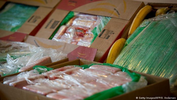 Deutschland Kriminalität - Polizei beschlagnahmt Rauschgift in Bananenkartons (Getty Images/AFP/O. Andersen)
