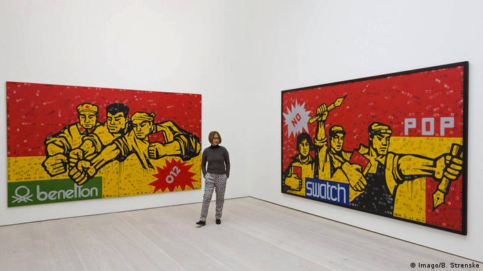 London Ausstellung Post Pop: East Meets West Wang Guangyi (Imago/B. Strenske)