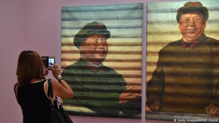 Melbourne 'Andy Warhol/Ai Weiwei' Ai Weiwei's 'Mao' (Getty Images/AFP/P. Crock)