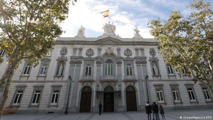 The Supreme Court building in Madrid