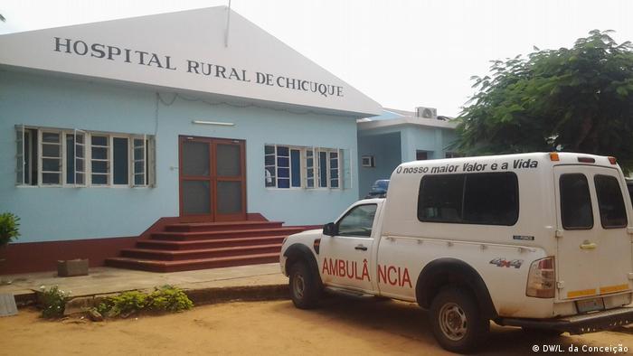 Mosambik Chicuque Krankenhaus