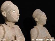Статуи правителей Катны