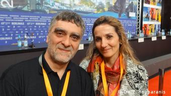 Berlinale 2019 Marianna Economou und Alexandros Gkousiaris (DW/P. Kouparanis )