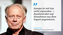 DW Zitattafel Jürgen Trittin zu Nordstream 2